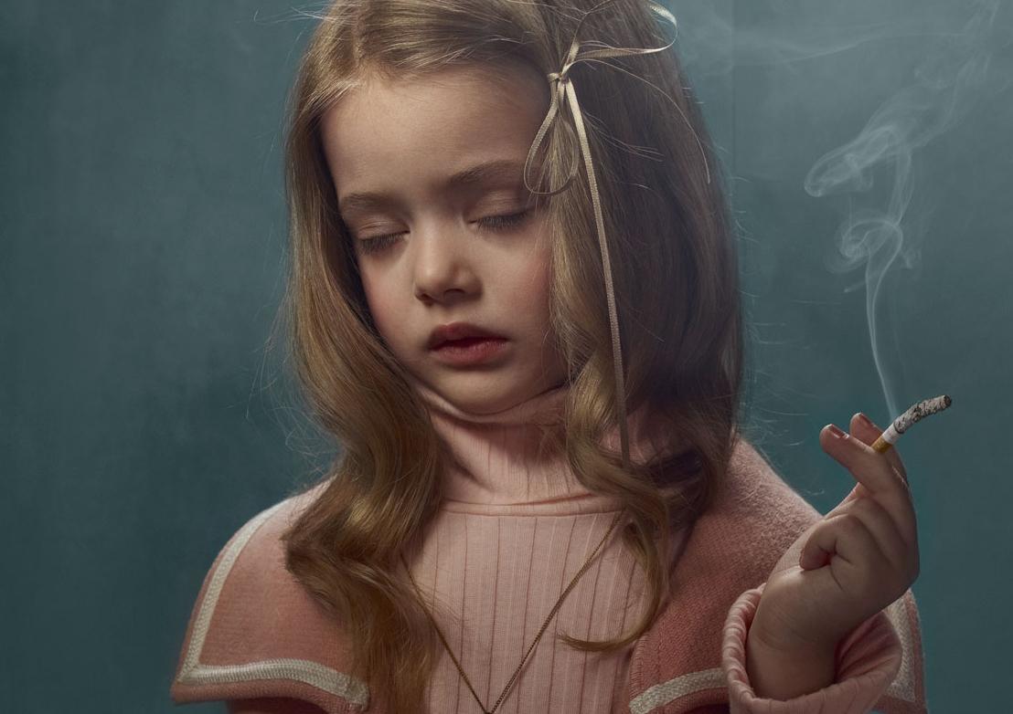 nina fumar