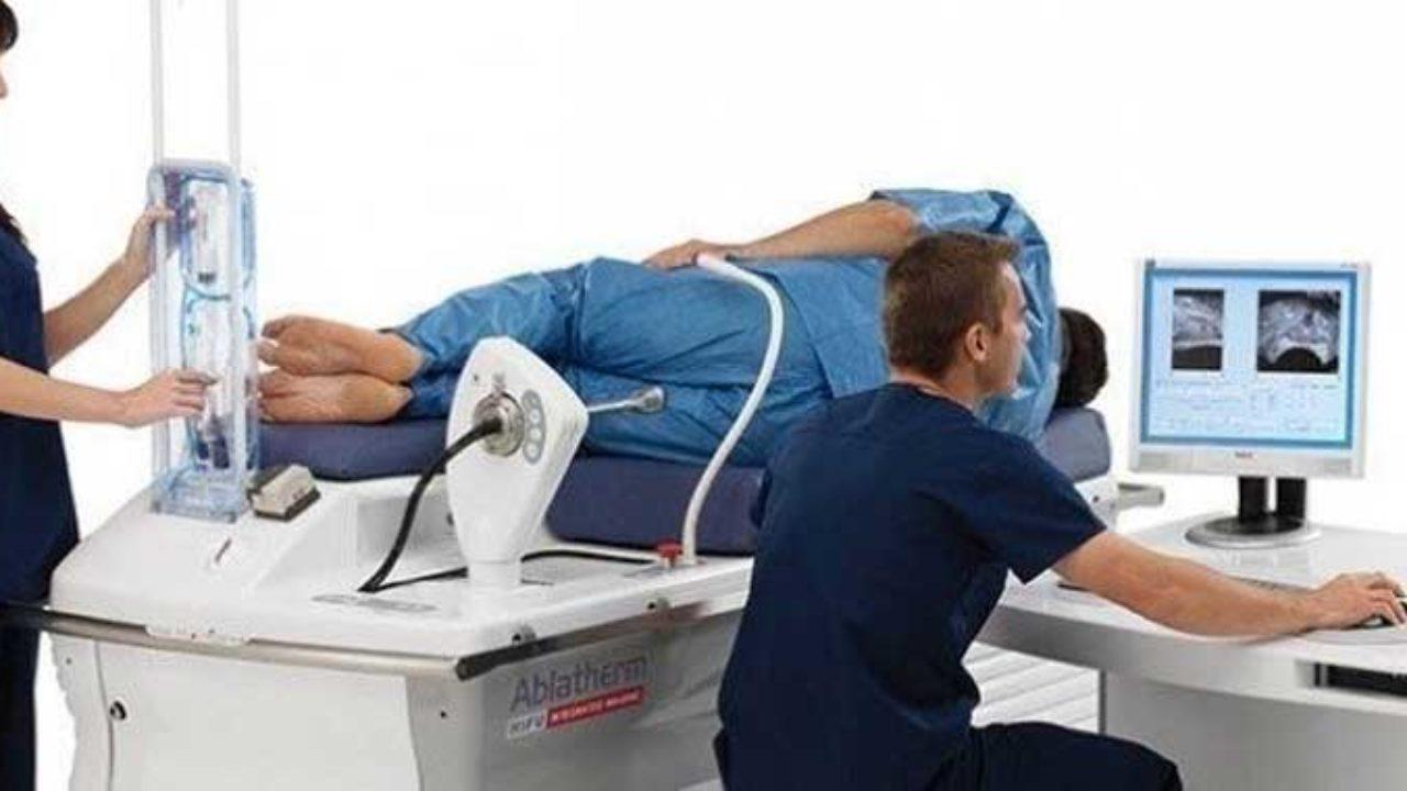 pruebas de próstata en el Reino Unido